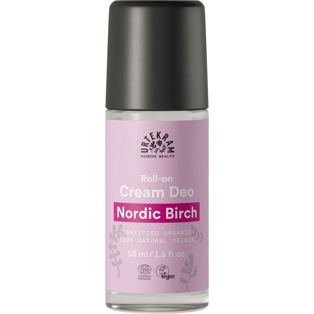 Urtekram Nordic Birch Cream Deo - 50 ml deodorant uden aluminium
