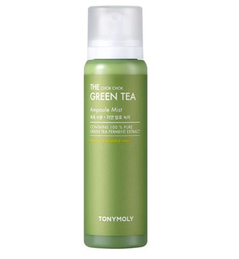 k-beauty TONYMOLY The Chok Chok Green Tea Ampoule Mist 150ml