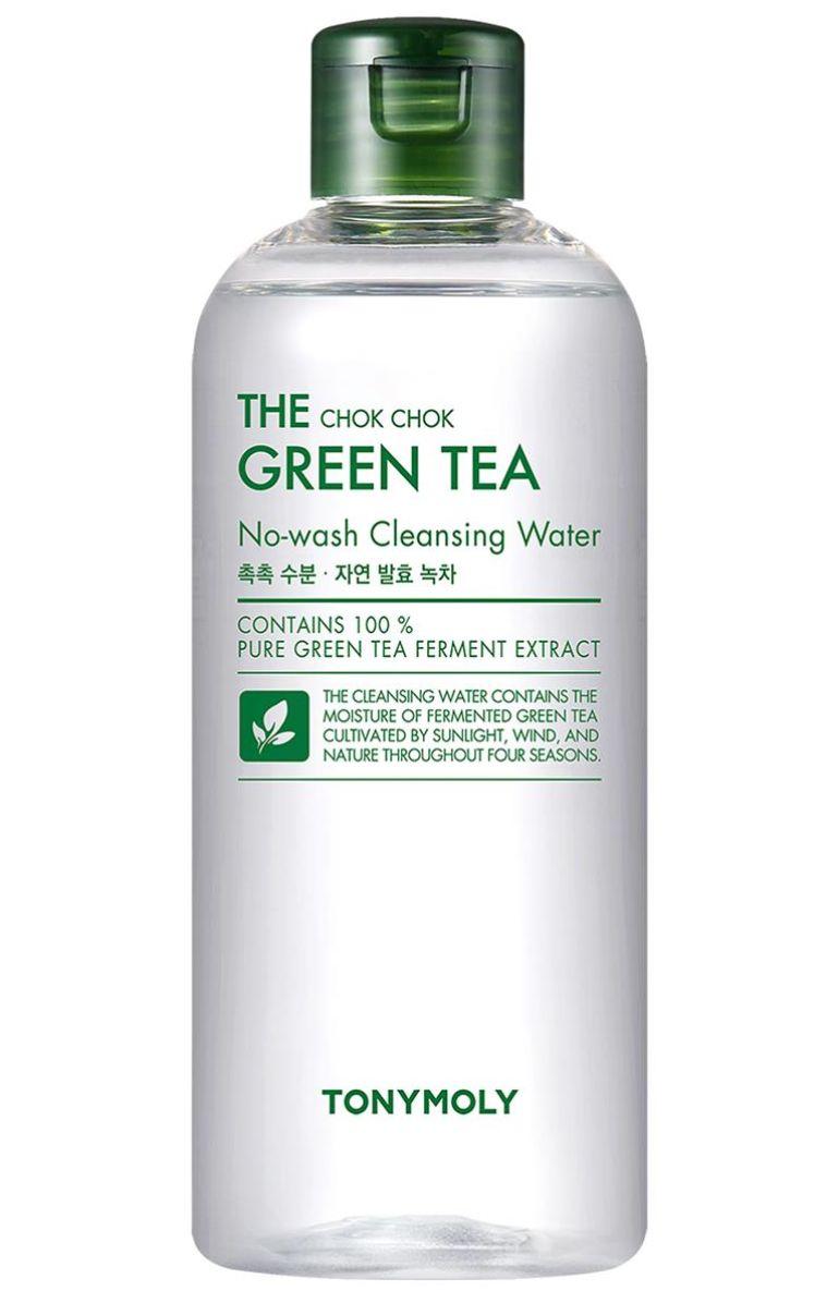 k-beauty TONYMOLY The Chok Chok Green Tea Cleansing Water 300ml