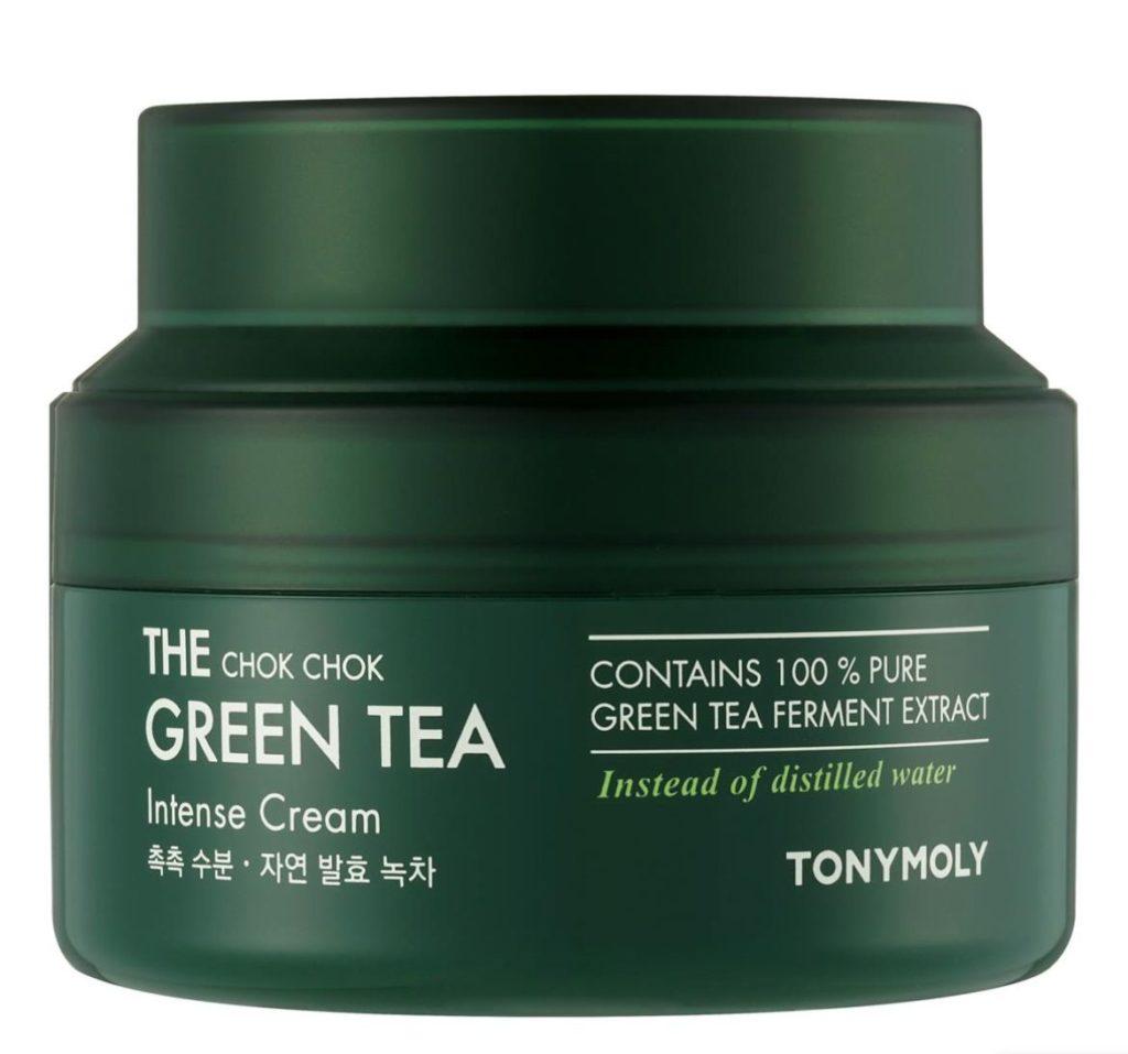 k-beauty TONYMOLY The Chok Chok Green Tea Intense Cream 60ml