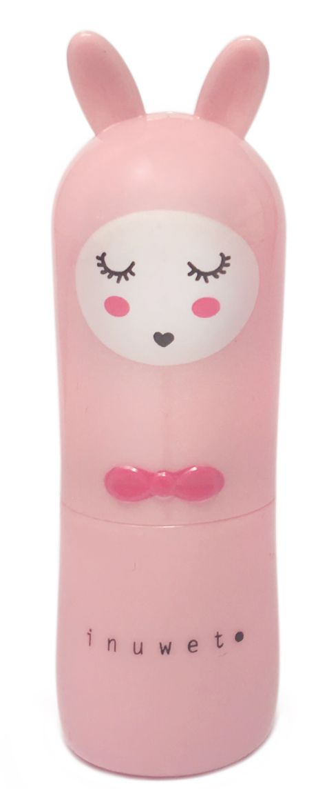 k-beauty INUWET Cute Bunny Lip Balm Strawberry 3g