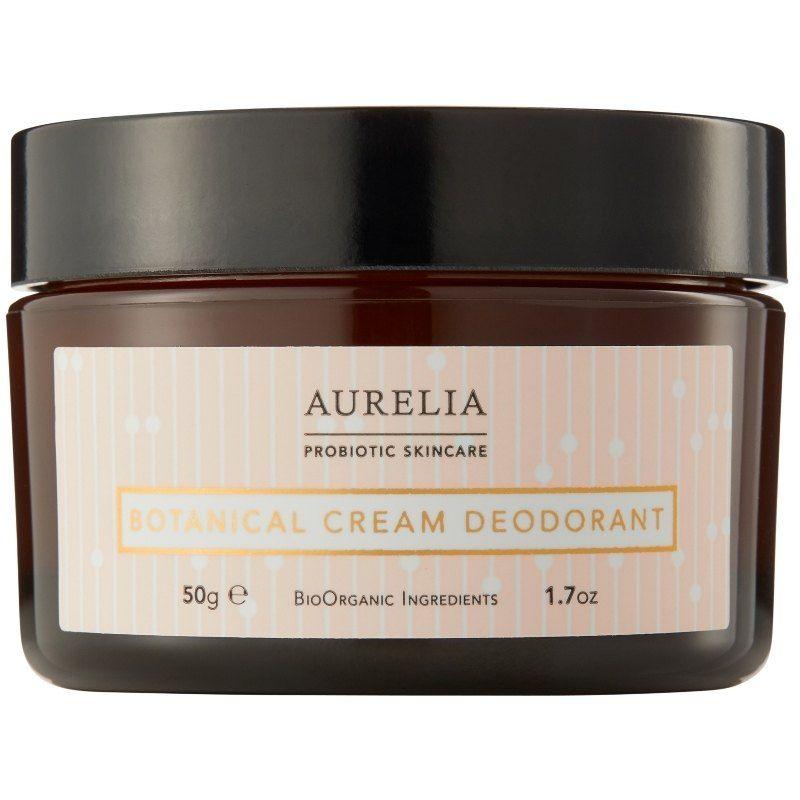 Aurelia Botanical Cream Deodorant - 50 ml Deodorant uden aluminium