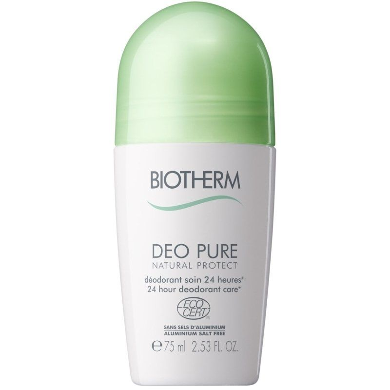 Biotherm Body Deo Pure Natural Protect Roll-On 75 ml Deodorant uden aluminium