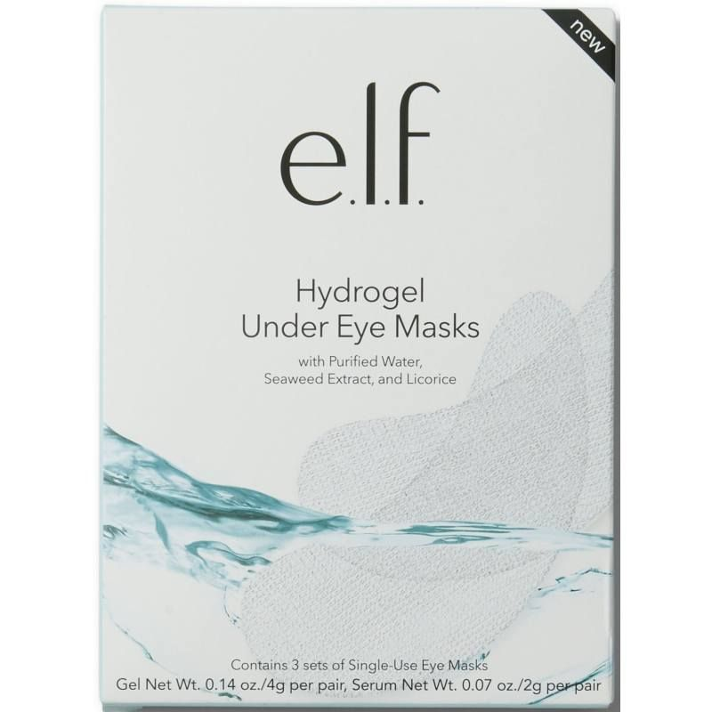 øjenmaske E.L.F. Hydrogel Under Eye Masks 3 stk.