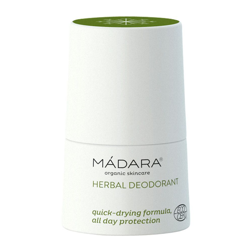 Mádara Herbal Deodorant Roll-On - 50 ml deodorant uden aluminium