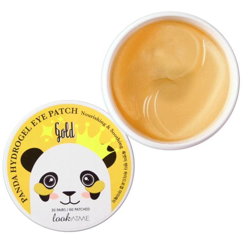 øjenmaske Look At Me Panda Hydrogel Eye Patch Gold 60 Patches