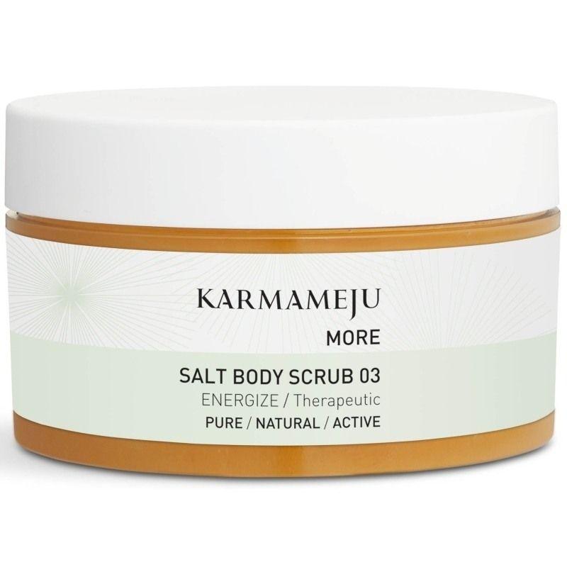 salt body scrub Karmameju MORE Salt Body Scrub 03 - 350 ml