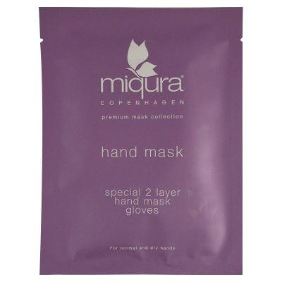 håndmaske  Miqura Hand Mask Gloves Pouch Normal And Dry Skin1 Par