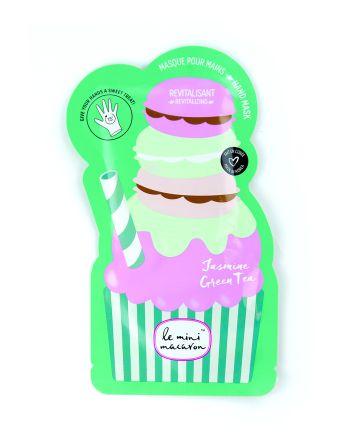 LE MINI MACARON Hand Mask Jasmine Green Tea håndmaske