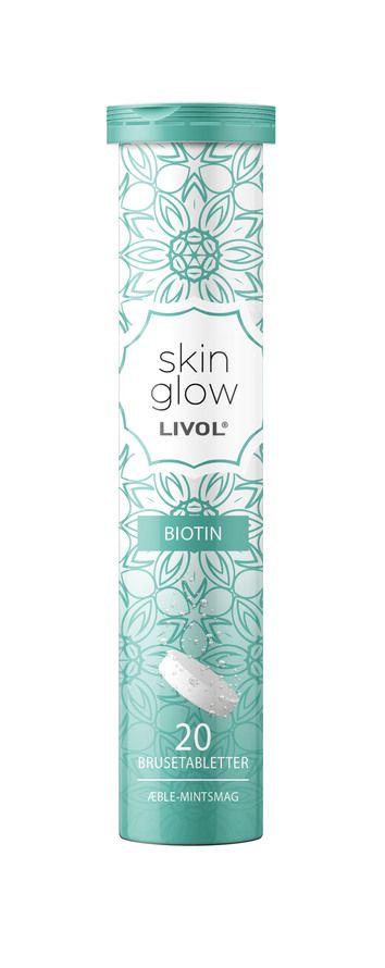 c vitamin brusetabeletter  Livol Skin Glow brusetablet 20 brusetabletter