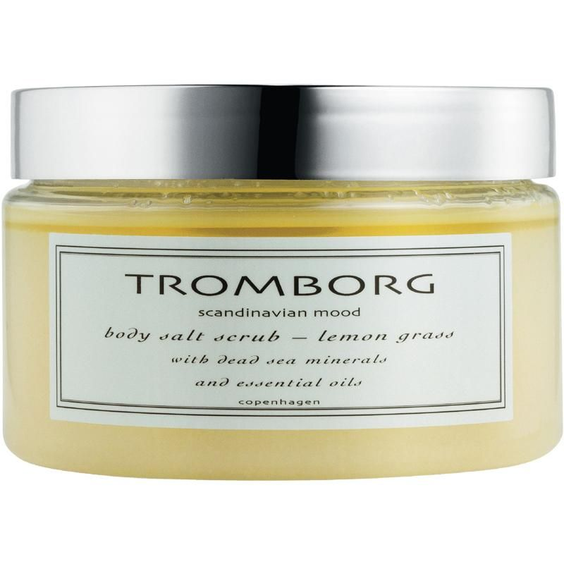 salt body scrub TROMBORG Body and Shower Saltscrub Lemon Grass