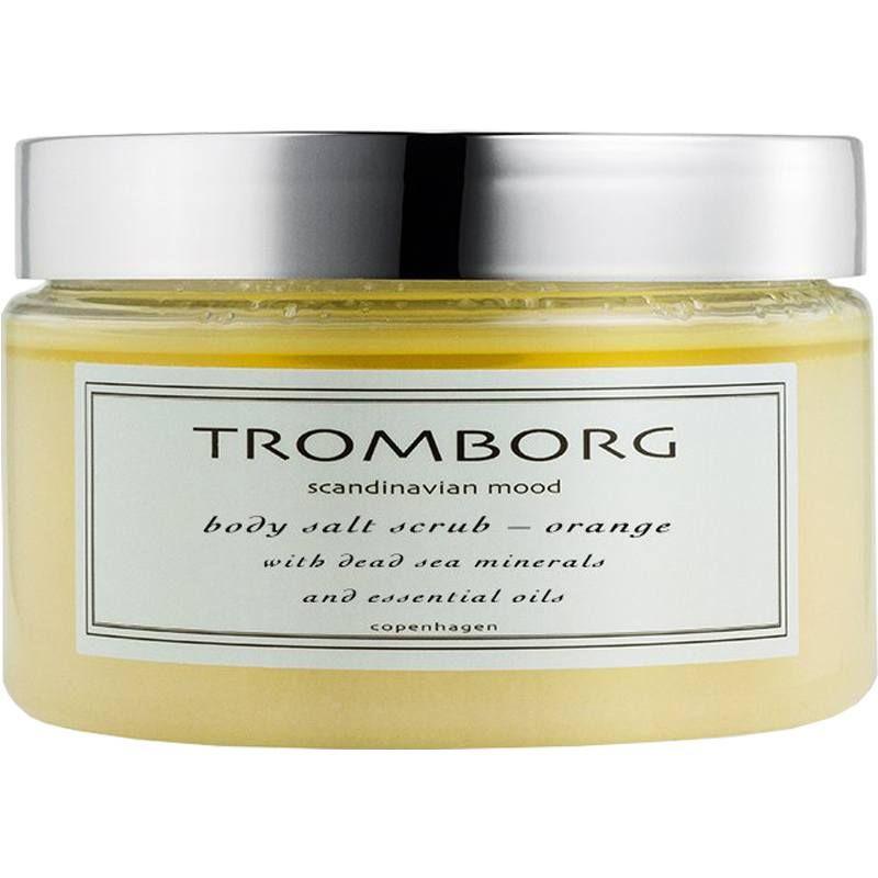 salt body scrub TROMBORG Body and Shower Saltscrub Orange