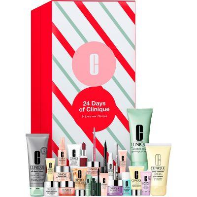 Makeup julekalender 2021  Clinique 24 Days Of Advent Calendar (Limited Edition)