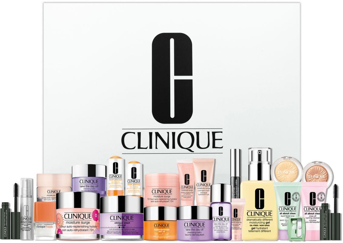 Clinique - Lyko 24 Days Christmas Calendar Makeup julekalender 2021